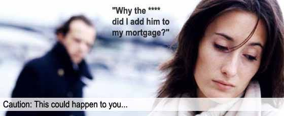 Adding someone to your mortgage