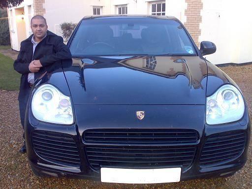 Ajay's Porsche