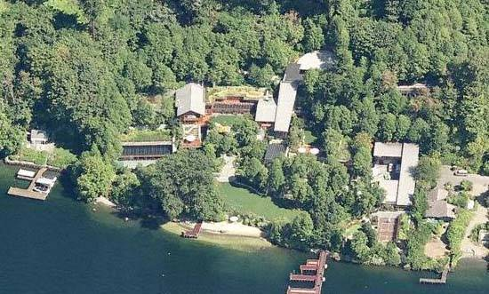 Bill Gates House- Birdseye View 2