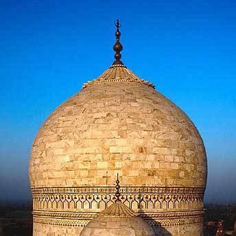 Taj Mahal Dome Exterior