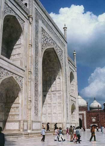 Taj Mahal Side Wall