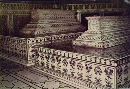 Taj Mahal Tombs