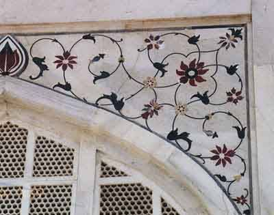 Taj Mahal Wall Detail