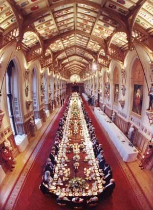 Windsor Castle Banqueting Room