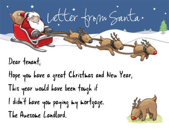 Shit You Shouldn 39 T Write In Your Tenant 39 S Christmas Card
