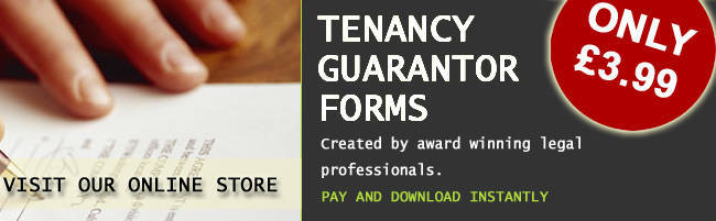 Buy A Tenant Guarantor Form