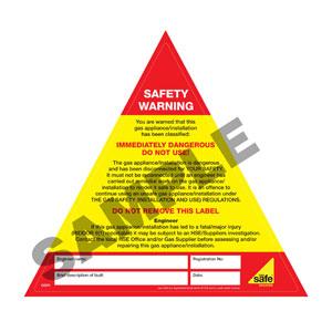 Boiler Safety Warning