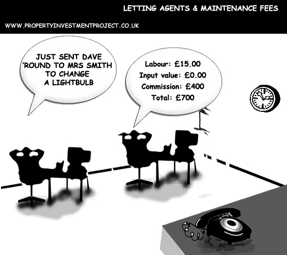 Letting Agents & Maintenance Fees