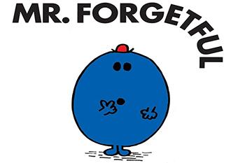 Mr Forgetful
