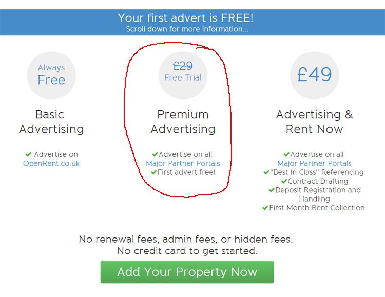 OpenRent Prices